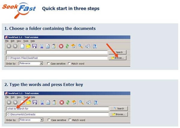 Ревю на SeekFast – удобен софтуер за търсене на съдържание в много файлове