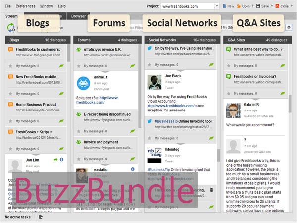 Ревю на BuzzBundle – Следете какво пишат хората за Вас и споделяйте по-бързо и лесно в социалните мрежи